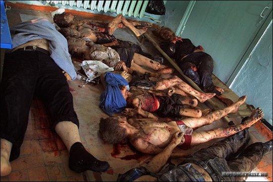 Фото трагедии в Беслане. Мы помним